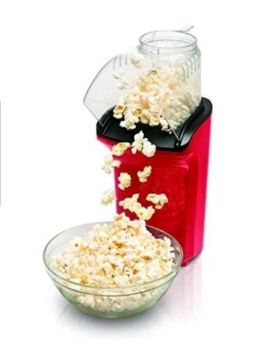 Hamilton Hot Air Popcorn Popper Popcorn Red for