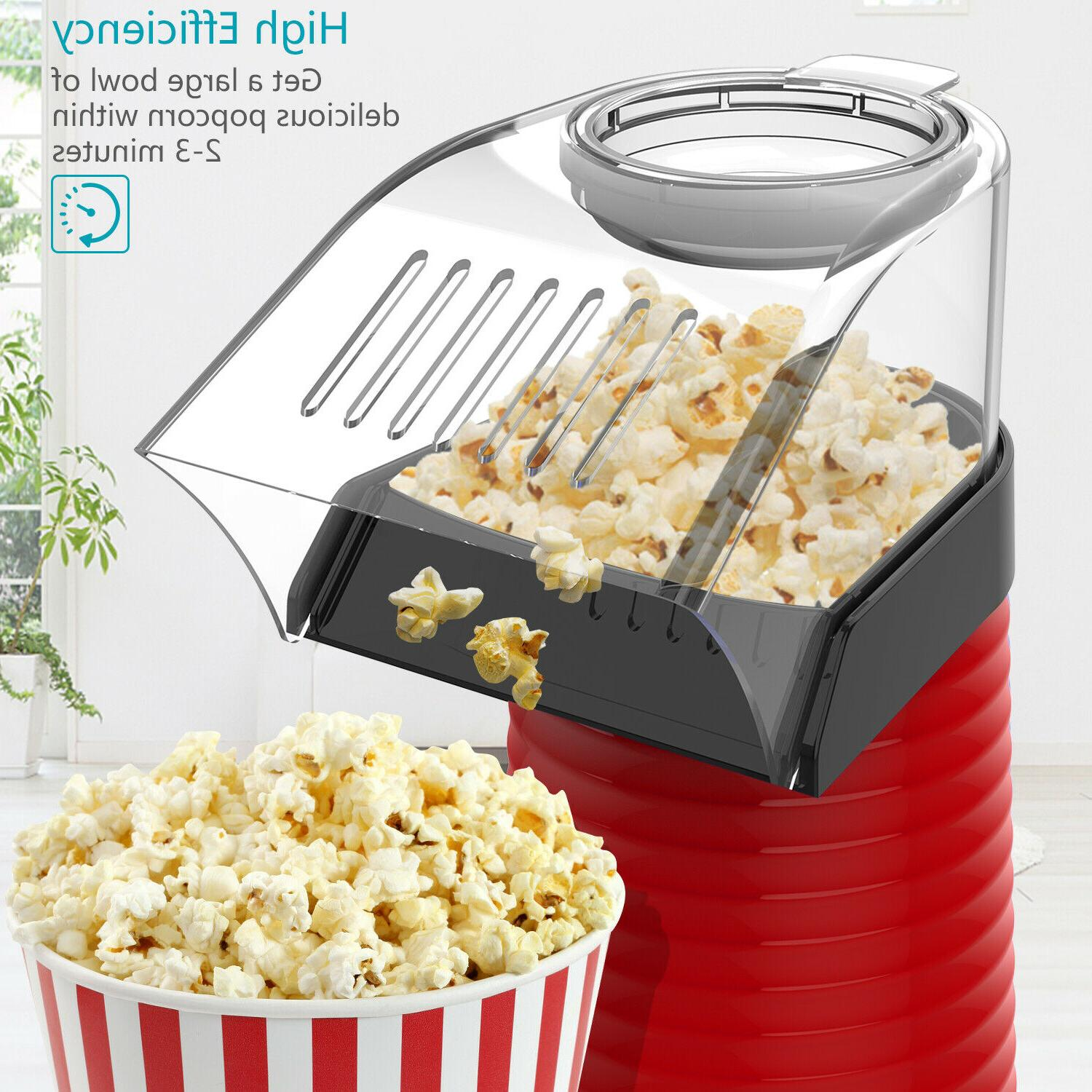 OPOLAR Hot Popper Popcorn 1200W Popcorn Machine Cup