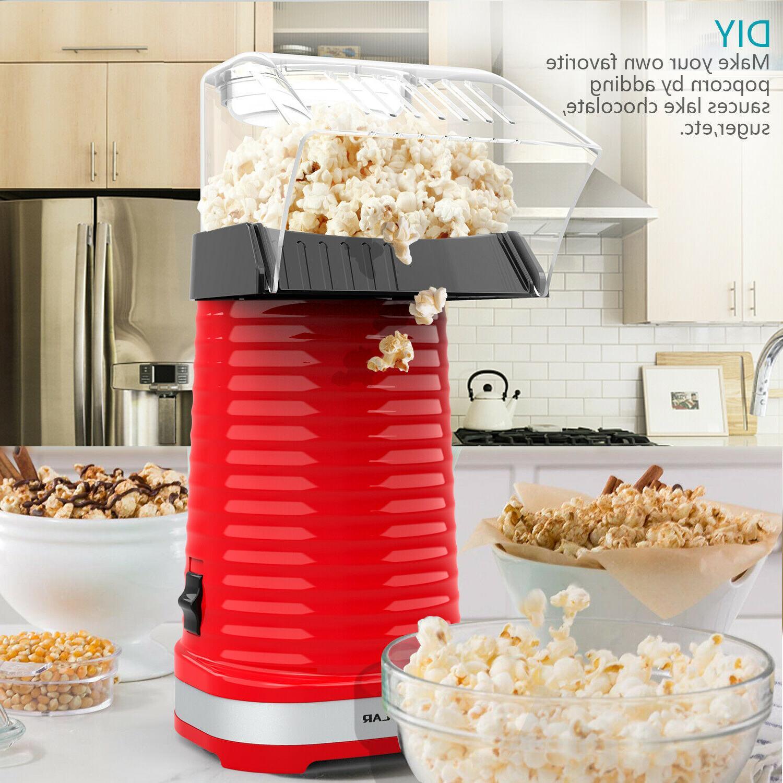 new hot air popper popcorn maker electric