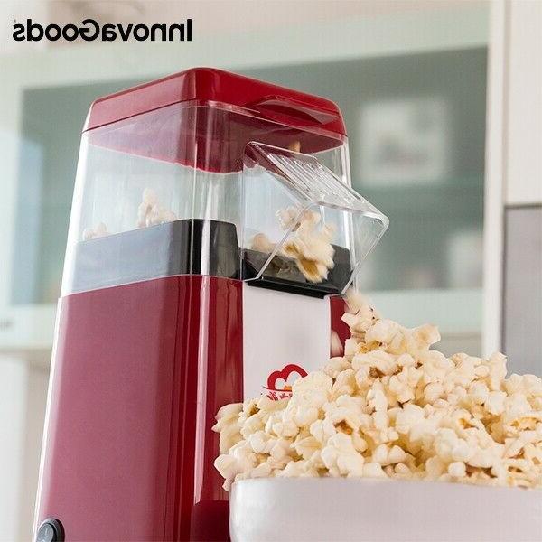 Hot Popcorn Maker 1200W Electric Popcorn Making Machine Home 16