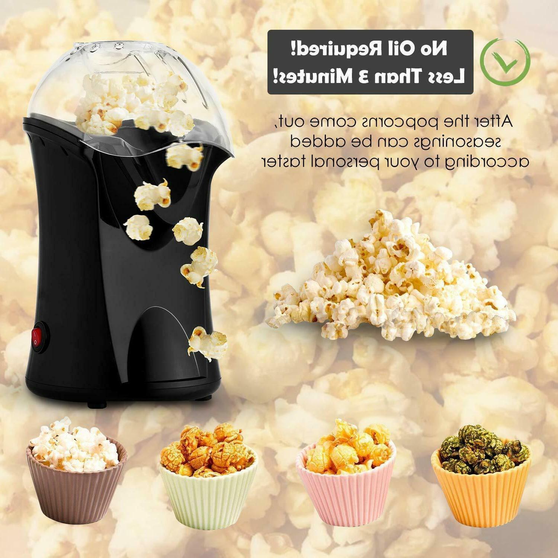 1200W Popcorn Air Pop Mini Tabletop Home