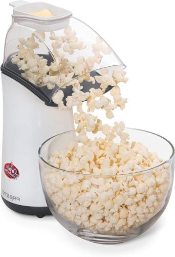 Hot Air Popper Popcorn Maker No Oil Healthy Fast Quick Snack