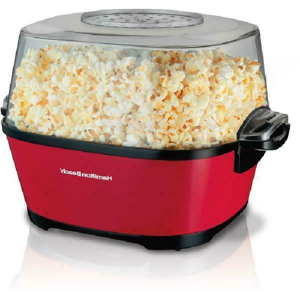 hot oil popcorn popper model 73302