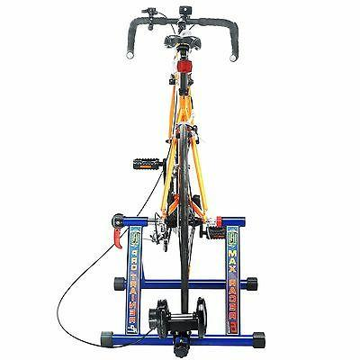 Indoor Cycling Trainer Resistance Stationary Portable Roller Mag