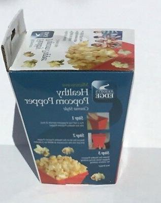Journey's Edge Healthy Popcorn Popper Cinema Style Popcorn Oil