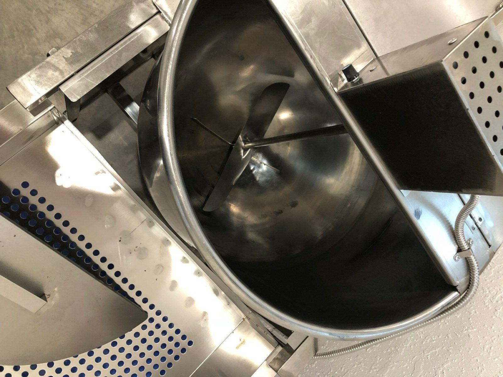 kettle popper 80 qt sift commercial