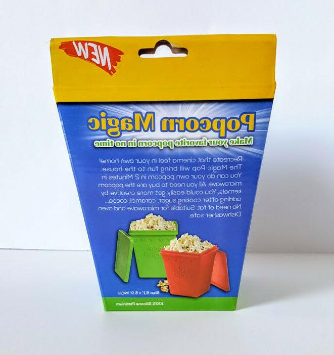 Magic Pop Popper Microwave or No Needed