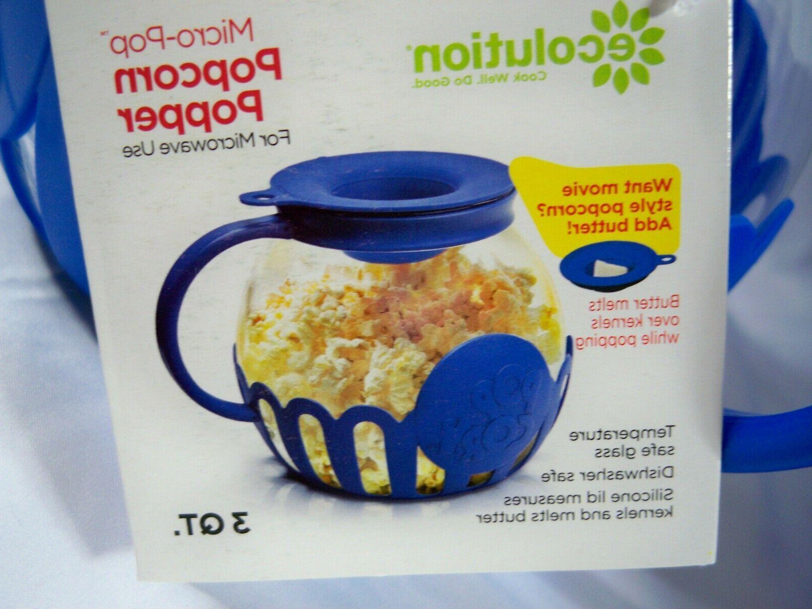 micro pop microwave 3 qt popcorn popper