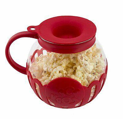 micro pop microwave popcorn popper 1 5qt