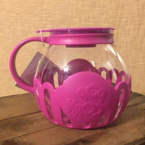 Ecolution Micro Pop Popper For Fuschia Pink 3 NWT