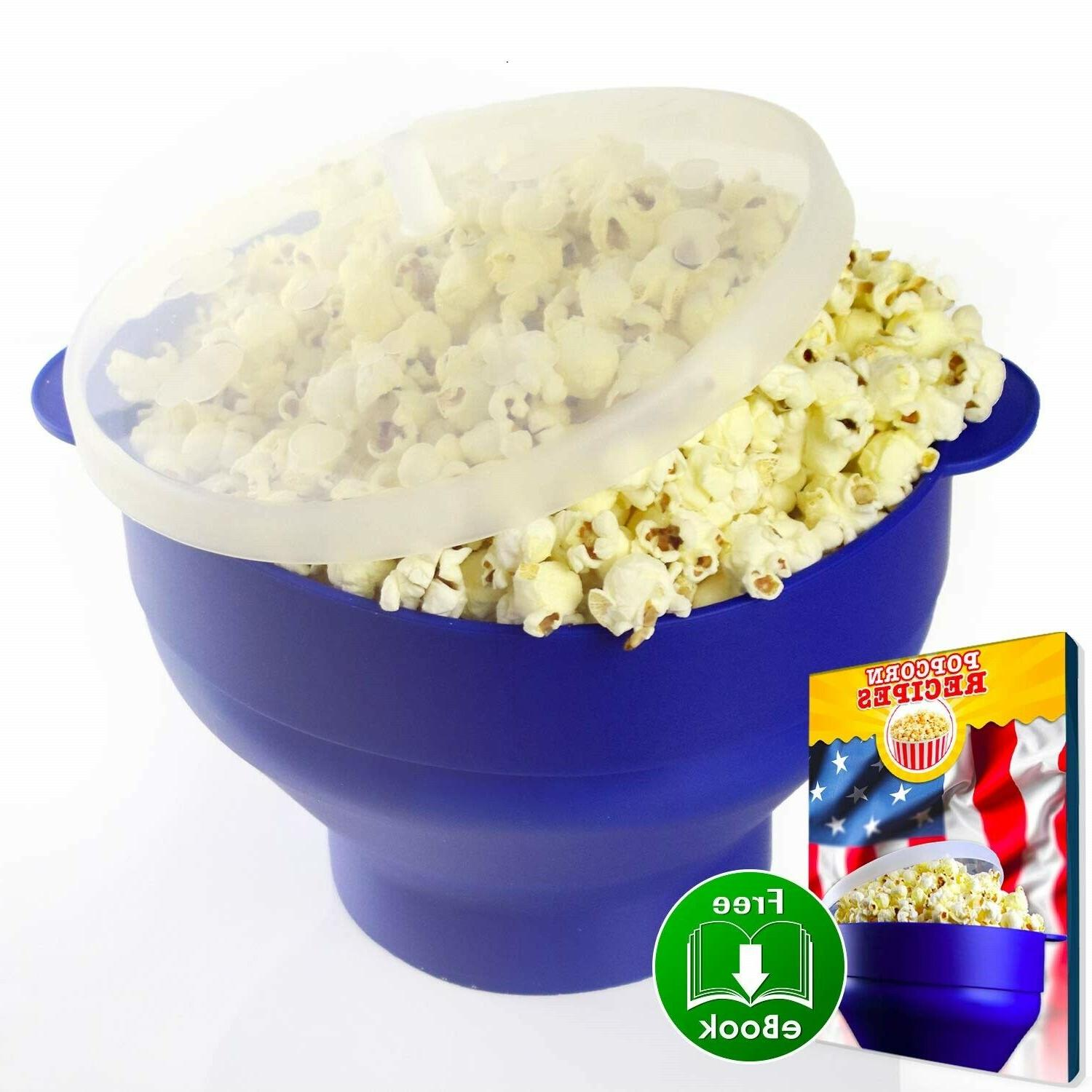 Ess Microwave Popcorn Popper Maker Handles Toxic