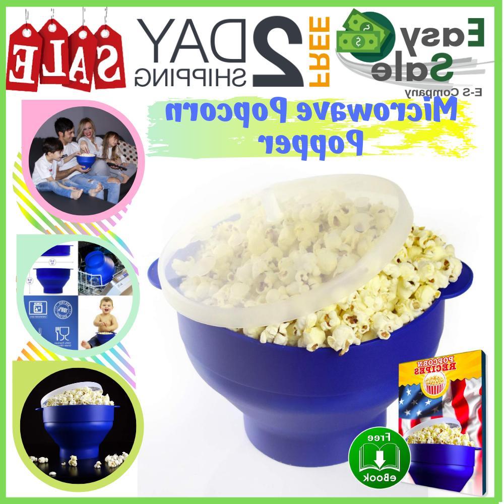 microwave air popcorn popper popcorn maker bowl