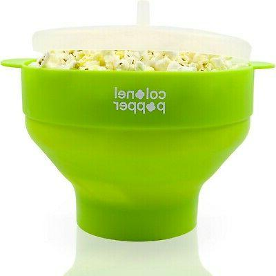 microwave popcorn healthy silicone