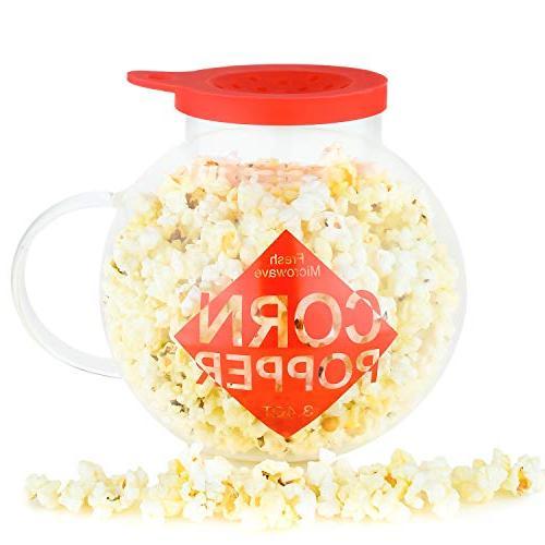 microwave popcorn popper 3 4qt