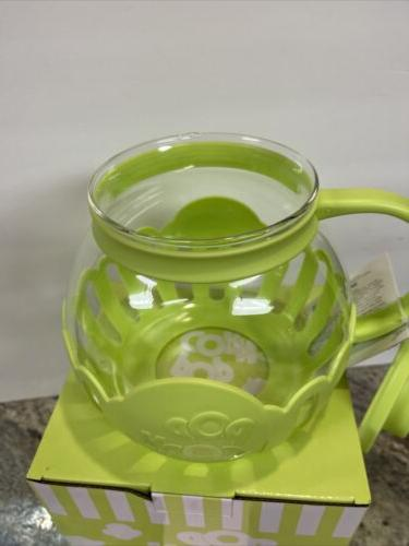 Microwave Ecolution Micro-Pop Temperature Glass Green