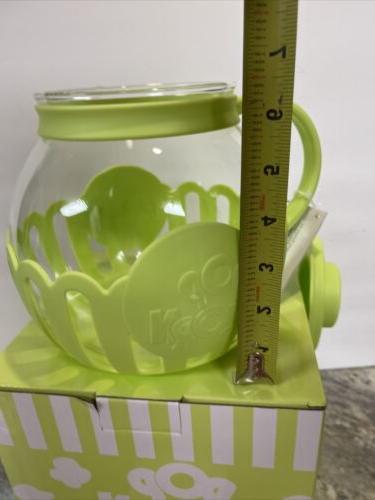 Microwave Popcorn Ecolution Micro-Pop Temperature Glass Green
