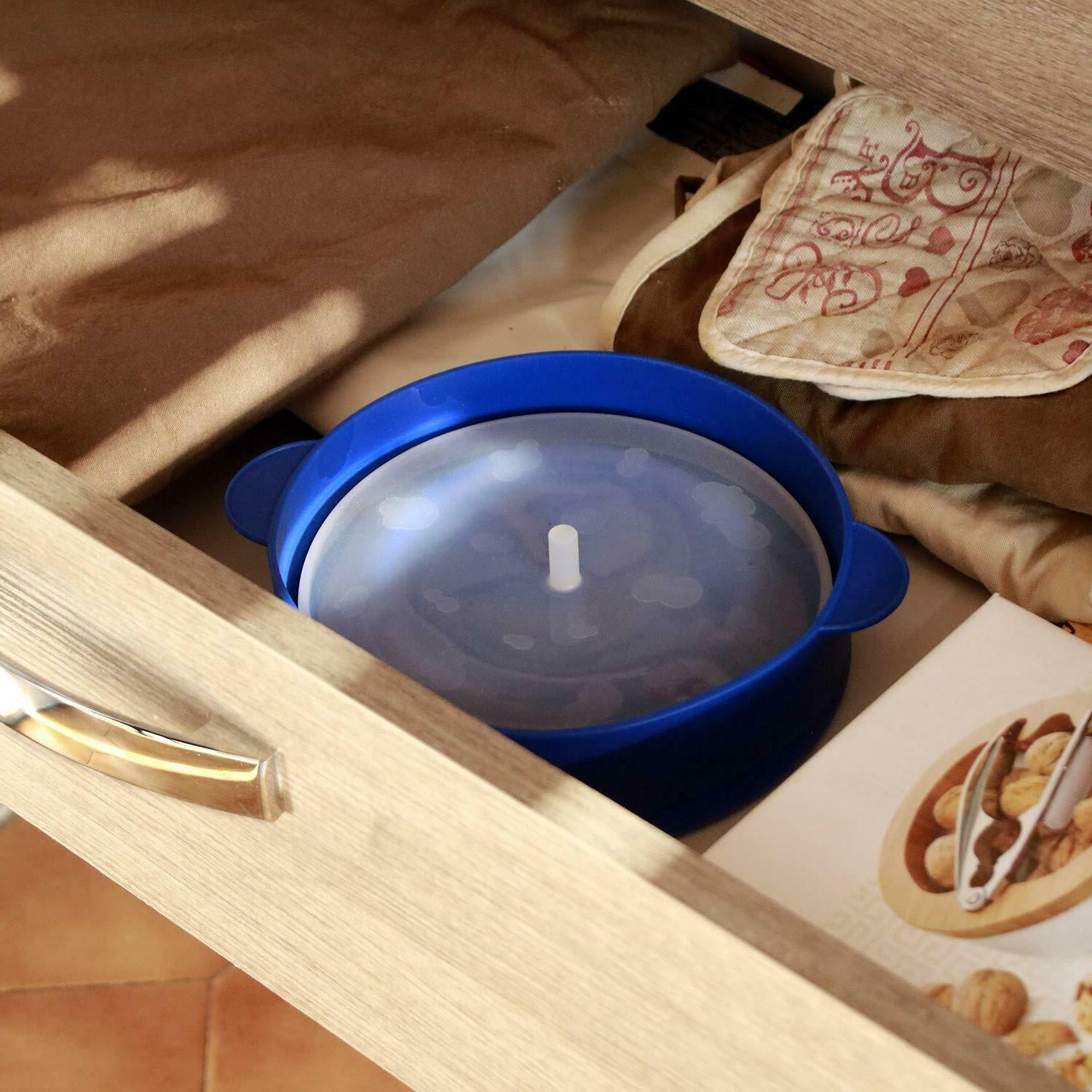 Microwave Popper Collapsible Handles and Lid