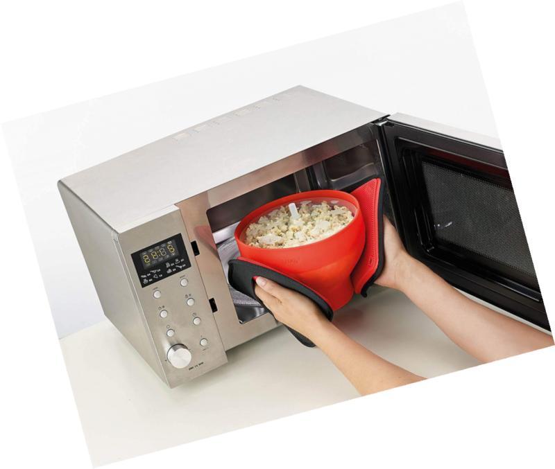 Lekue Microwave Maker, Red