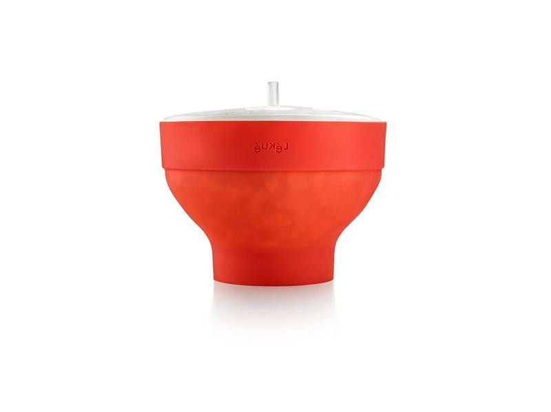 microwave popcorn popper popcorn maker red