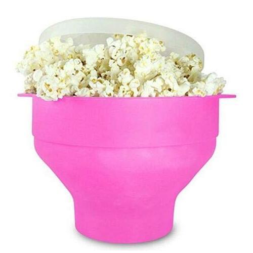 microwave silicone popcorn popper maker