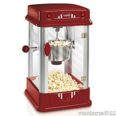 new 220 volt popcorn maker not