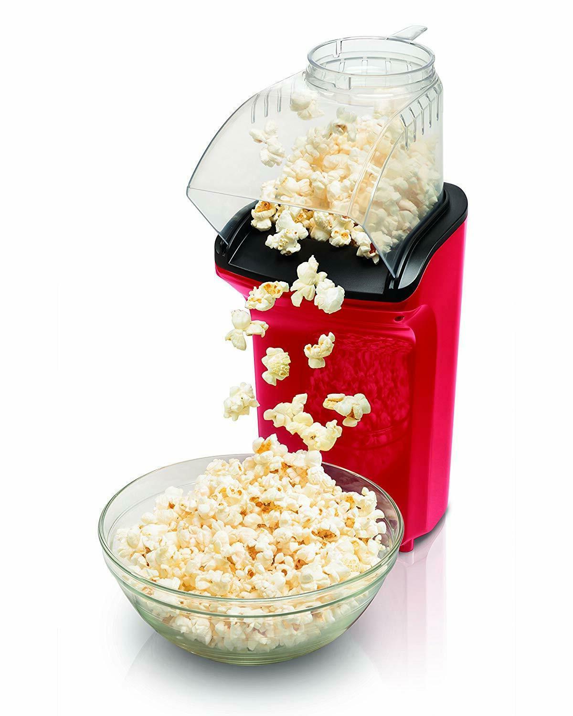 new 73400 hot air popcorn popper