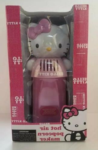 new hello kitty electric air popcorn maker