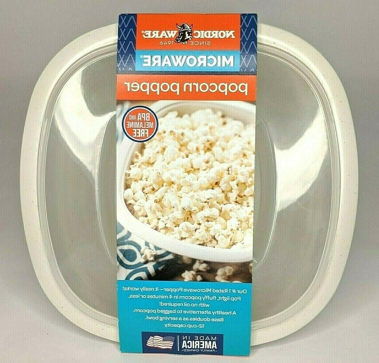 new microwave popcorn popper 12 cup capacity