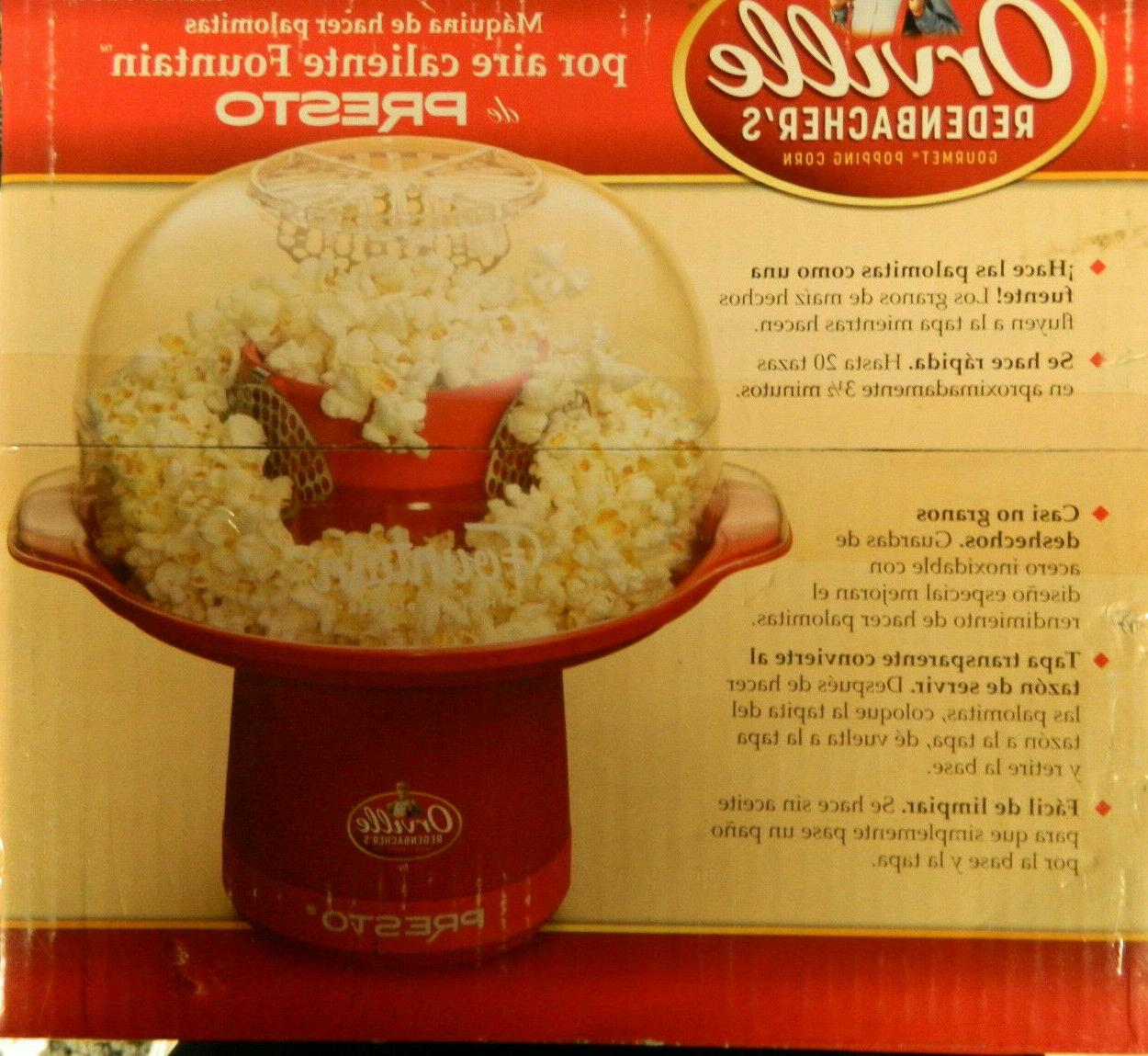 NEW ORIGINAL PACKAGING ORVILLE REDENBACHER'S FOUNTAIN POPPER PRESTO
