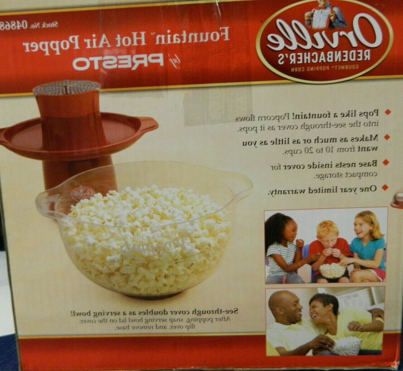 NEW REDENBACHER'S FOUNTAIN POPPER BY