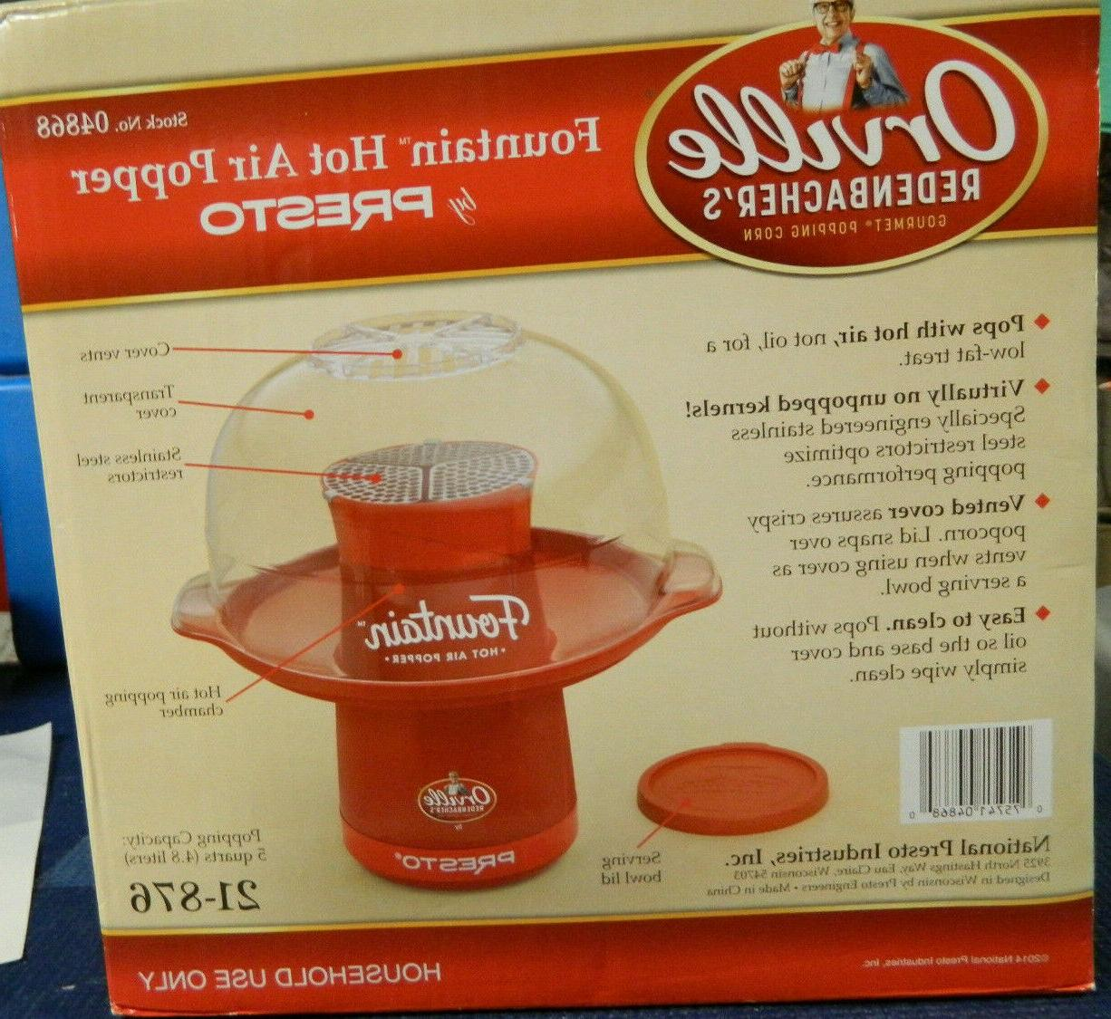NEW REDENBACHER'S HOT POPPER PRESTO