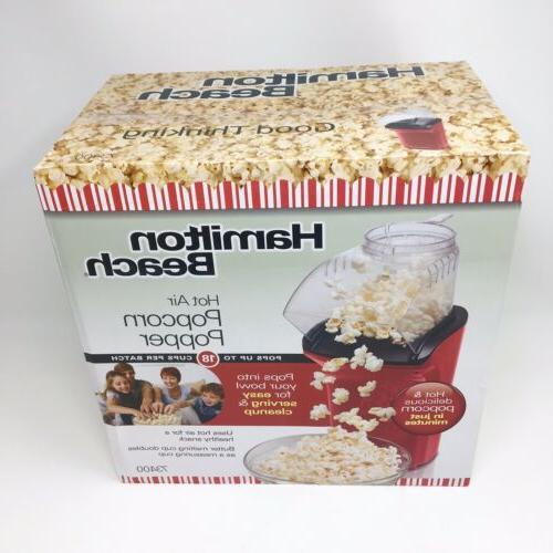 new popcorn maker sealed in the box