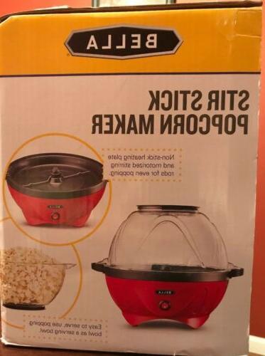 NEW Sealed Popcorn Maker Popper Large Cup