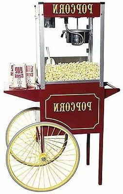New Paragon Theater Pop 6 Ounce Popcorn Popper Machine & Car