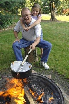 Wabash Farms Open Fire Popper