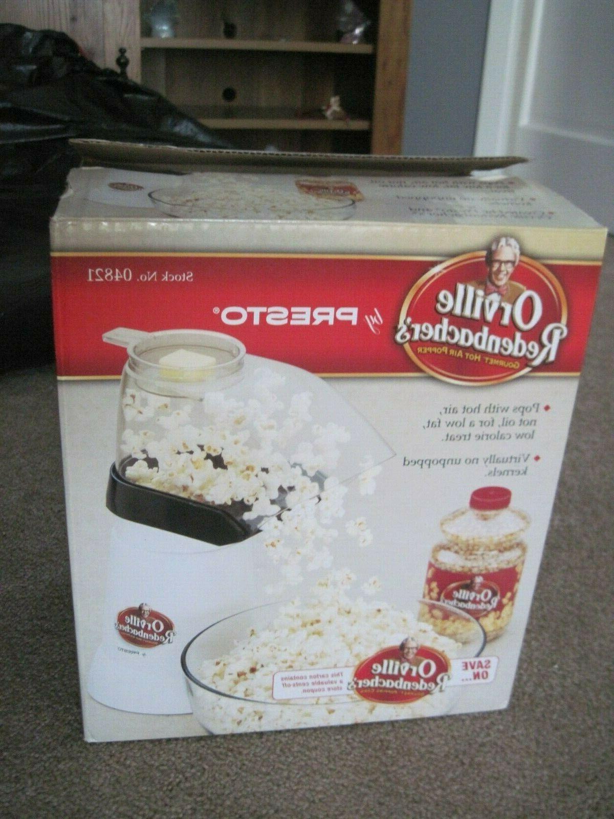 orville redenbacher s hot air popcorn popper
