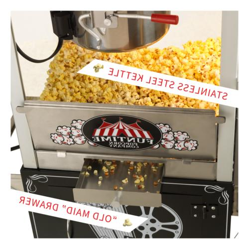 FunTime FT824PP Palace Popper 8 Popcorn Machine