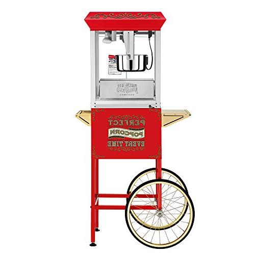 Great Northern Popcorn 10 Popcorn Machine - Red