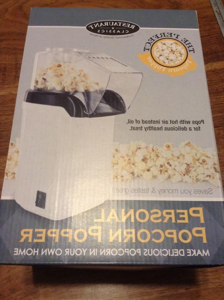 personal air popcorn popper restaurant classics smart