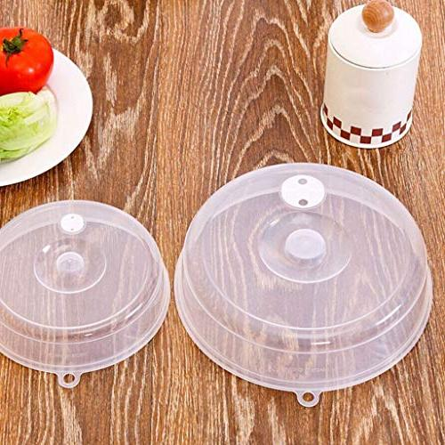 plastic microwave plate cover clear