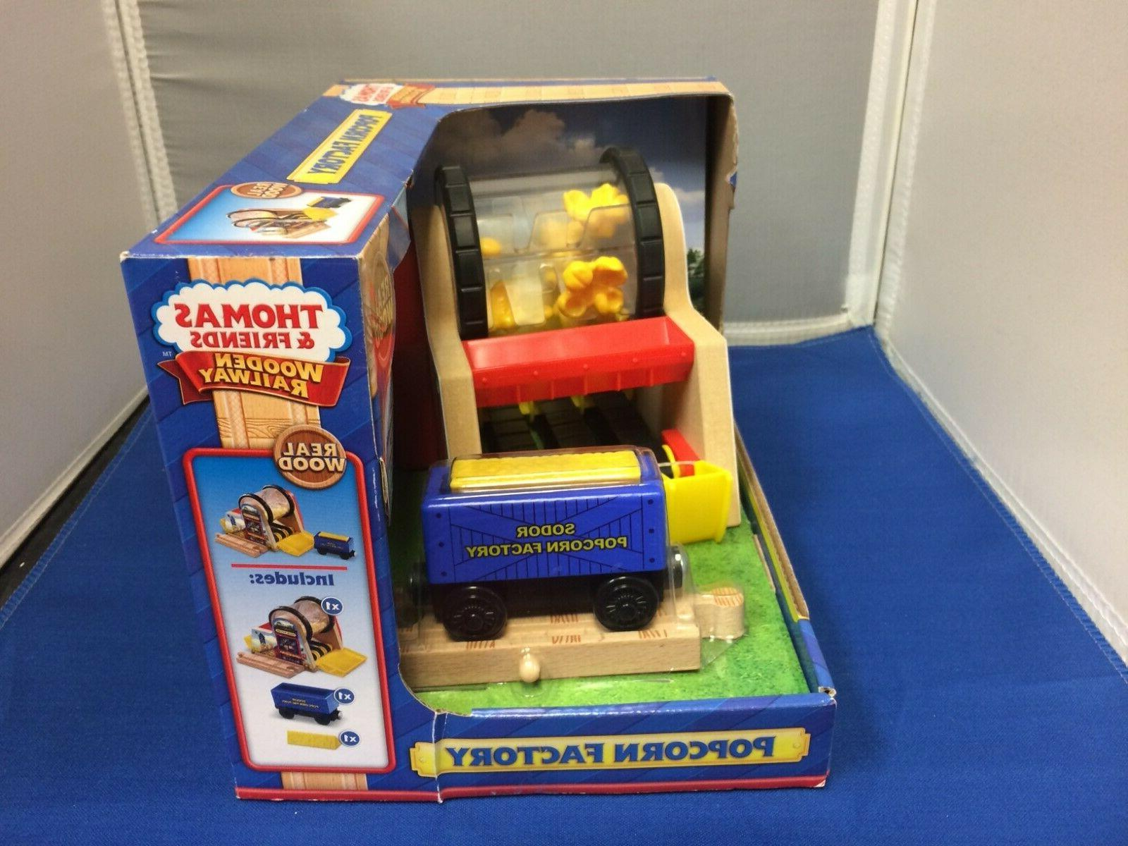 Popcorn Factory the Thomas Wooden New