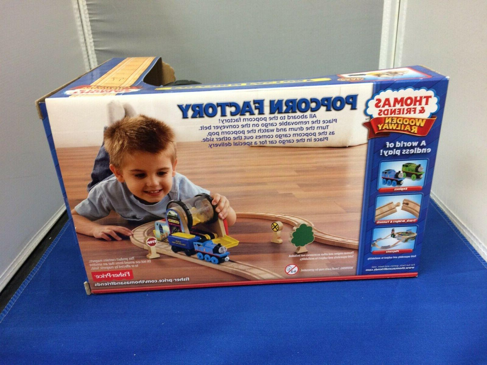 Popcorn the Thomas Wooden System New