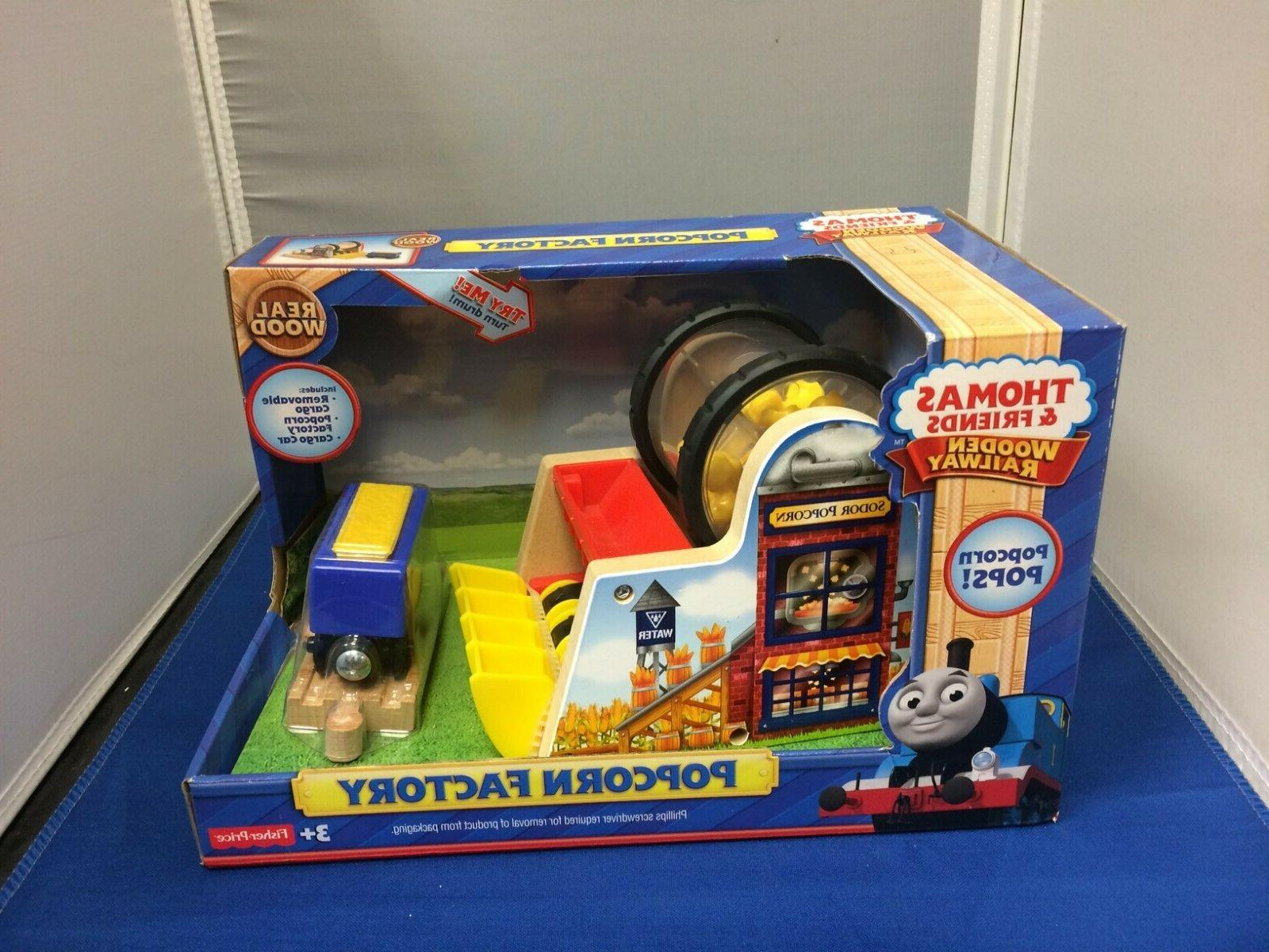 popcorn factory for the thomas wooden railway