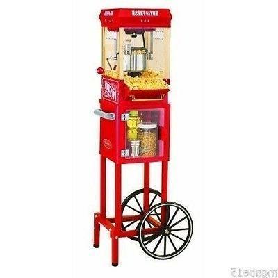 popcorn machine maker popper cart home movie