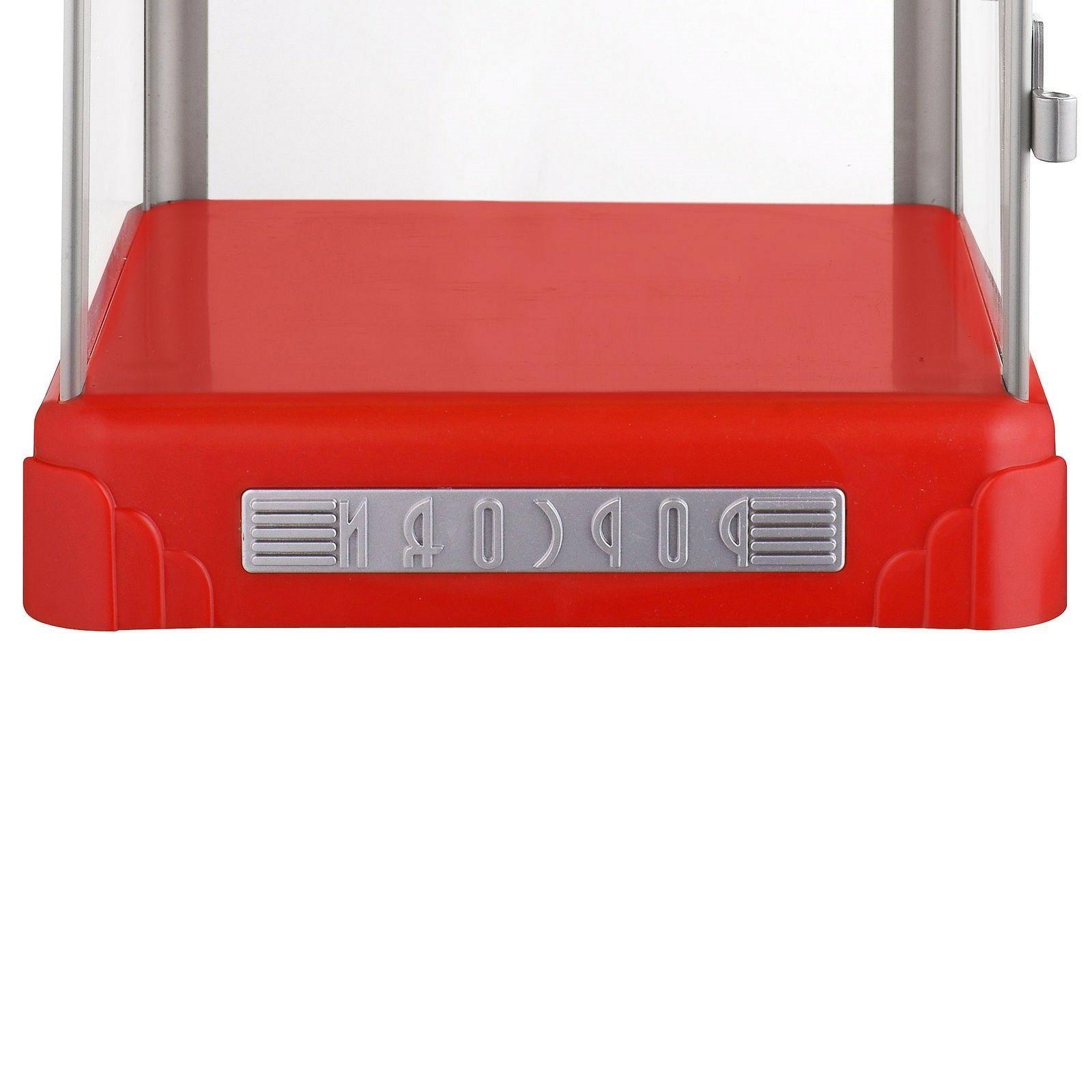 Popcorn Machine Pop Pup Retro Home Counter