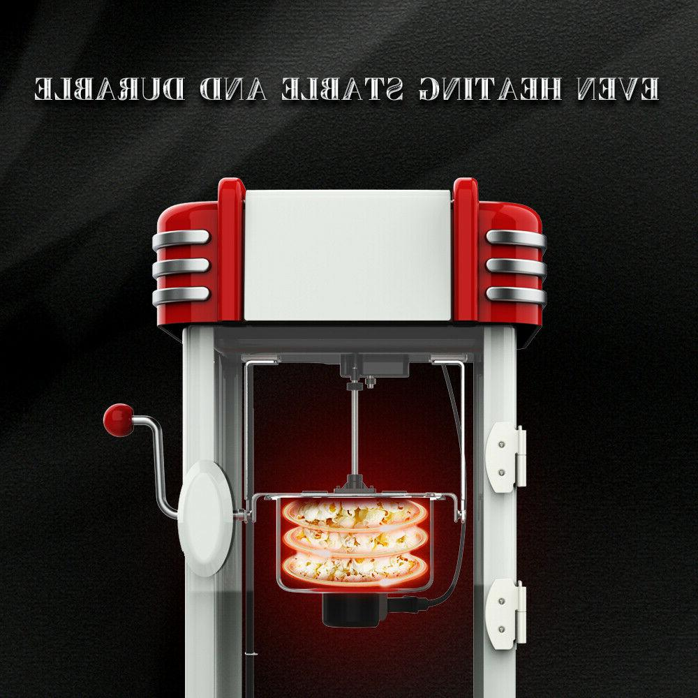 KAPAS Machine, Red Tabletop Popcorn Popper with