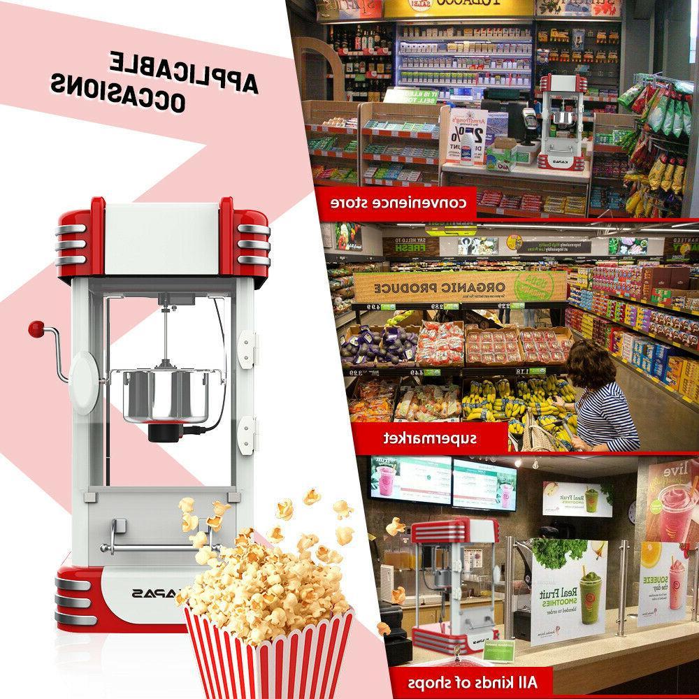 KAPAS Popcorn Tabletop Popcorn with