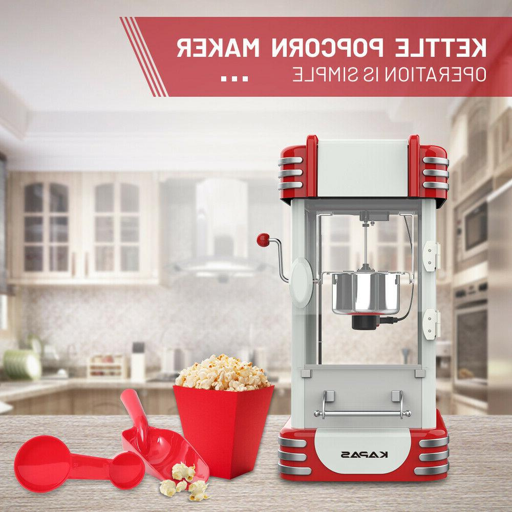 KAPAS Popcorn Tabletop Popper Maker with