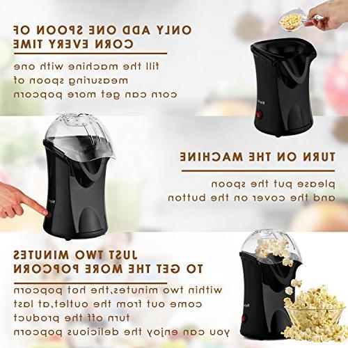 Popcorn 1200W Popper Oil
