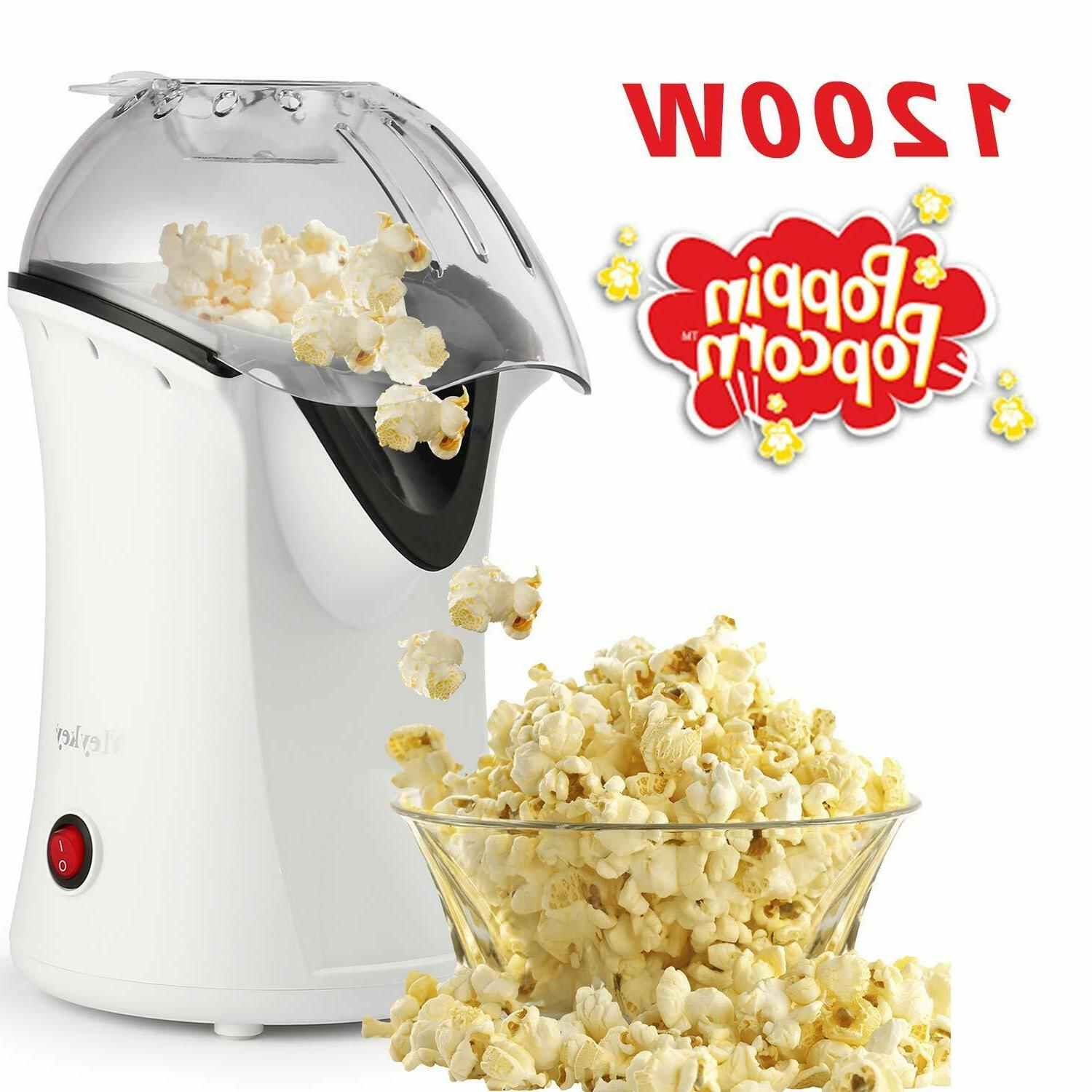 Popcorn Maker Machine, Hot Healthy No Need